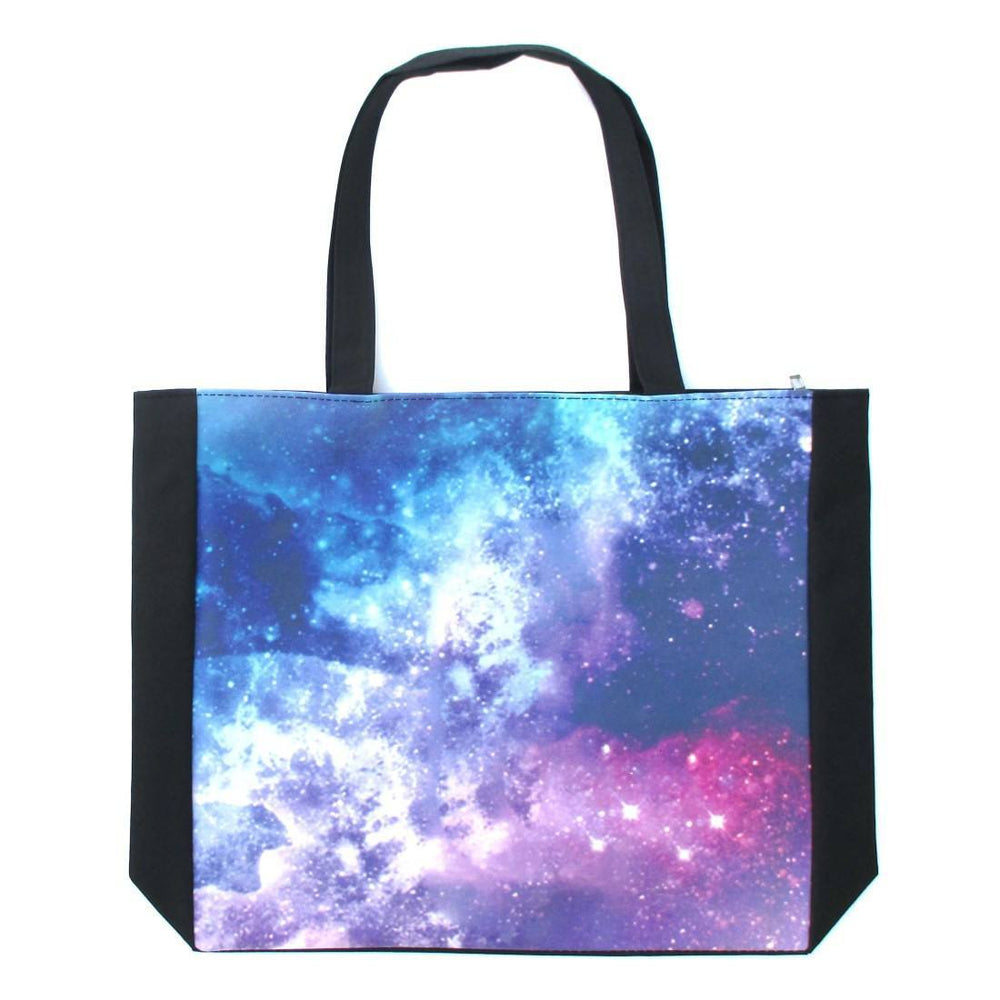 Universe Nebula Starry Space Print Rectangular Shopper Tote Shoulder Bag | DOTOLY | DOTOLY