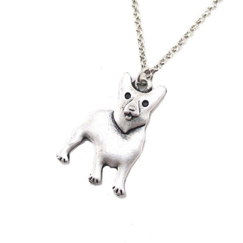 Welsh Corgi Puppy Shaped Charm Necklace in Silver | Animal Jewelry
