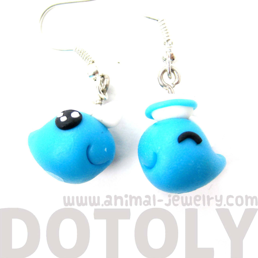 Whale Shaped Animal Themed Polymer Clay Dangle Earrings | DOTOLY | DOTOLY