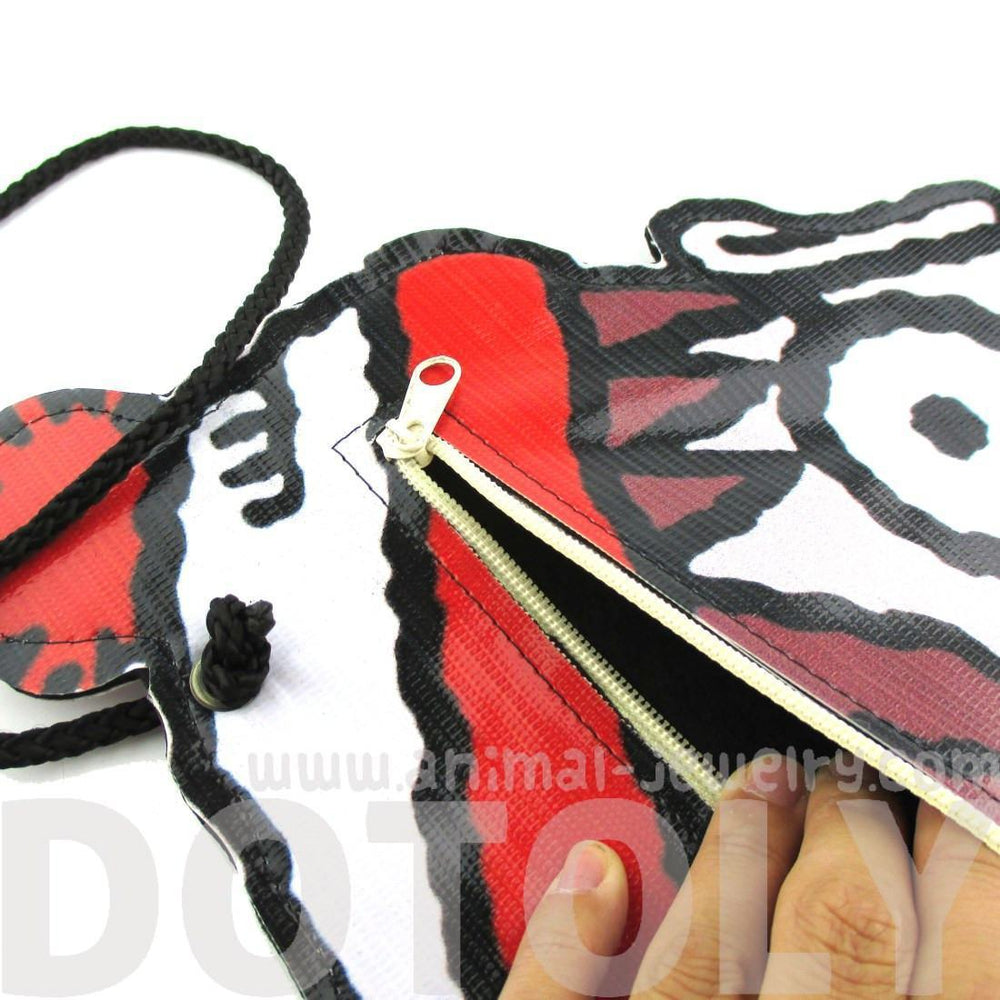 Where's Waldo Wally Shaped Vinyl Print Cross Body Bag | Geeky Gifts | DOTOLY