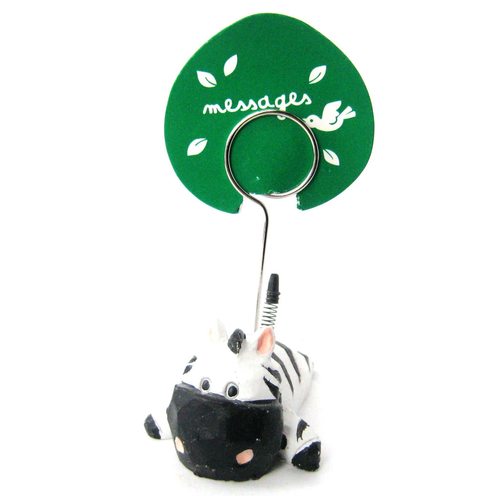 Zebra Cute Animal Photo Stand Memo Holder | Home Decor | DOTOLY