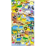 Zoo Animal Themed Elephant Lion Koala Zebra Crocodile Stickers for Scrapbooking | DOTOLY