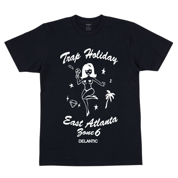 Trap Holiday Tee - Black