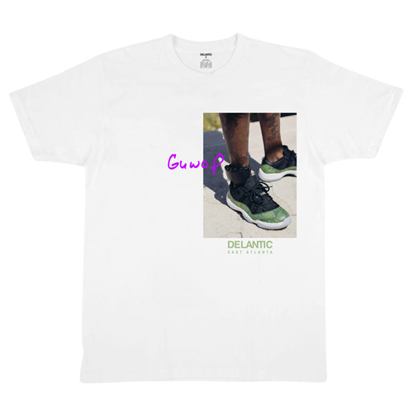 "Geordie Wood ""Ankle"" Tee - White"