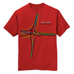Junction Tee - Red