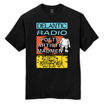 Artists, Poets & Madmen Tee - Black