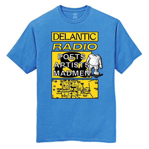 Artists, Poets & Madmen Tee - Sky Blue