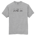 Zone Sixer Tee - Heather Grey