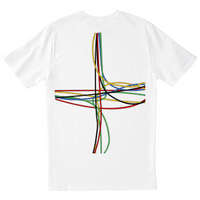 Junction Tee - White