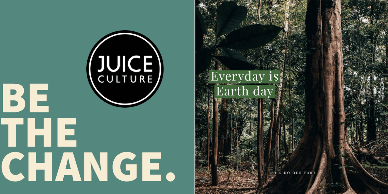 juice culture committed to a clean environment