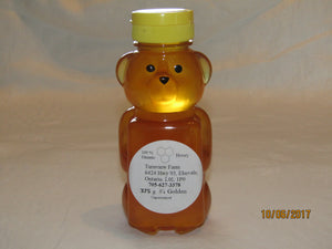 375 gram Wildflower Honey in Plastic Bear