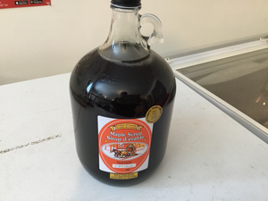 1-1 gallon maple syrup