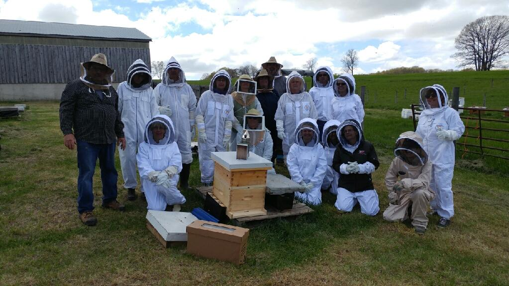 Honey Harvest and Fall Bee Workshop August 7, 2021