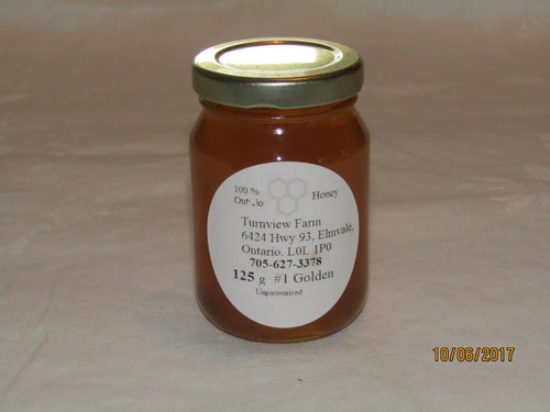 125 ml Wildflower Honey, glass gift size