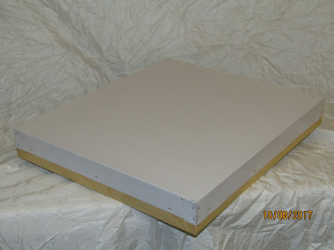 Hive Lid, White Aluminum cover 10 frame