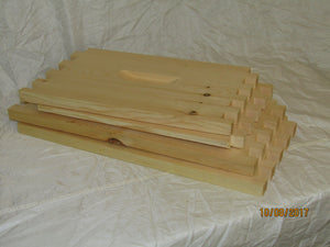 Deep Hive Box, Unassembled