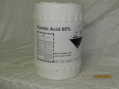 Formic 20 Litre pail 65% Pickup Only mite treatment