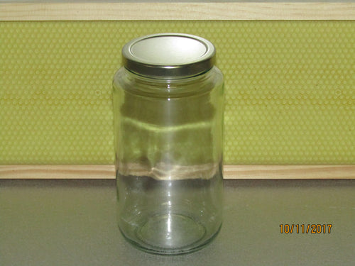 Glass jar 750 ml, with lid per Dozen