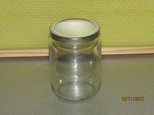 Glass Jar 375 ml, with lid per dozen