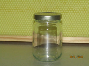 Glass Jar 125 ml,  per dozen