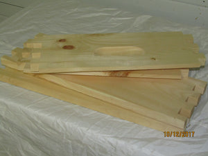Medium Hive Box, 10 frame unassembled
