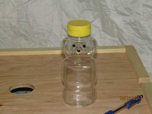 Plastic Honey Bear, 375 ml per dozen