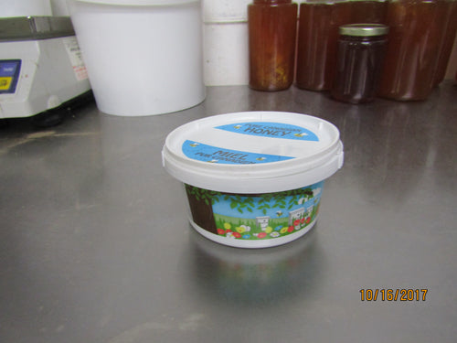 500g tub with honey graphics, each