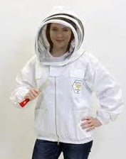 Beekeepers Jacket, Full metal zipper