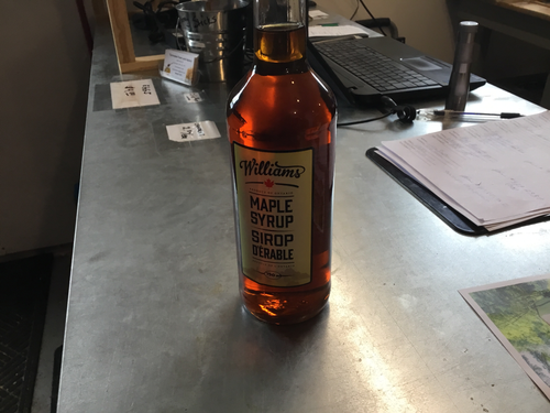 1 750 ml Maple Syrup