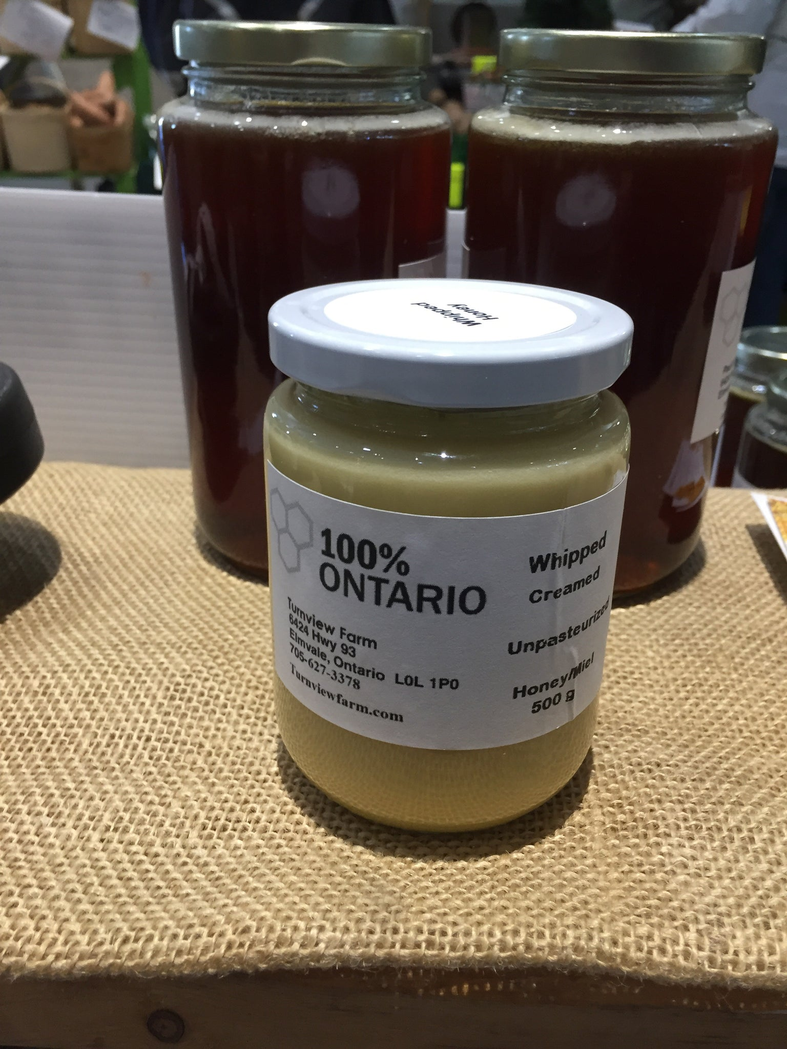 500 gram Wildflower Creamed Honey