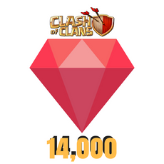 Buy Cheap Clash of Clans Gems - 14,000