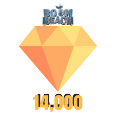 Buy Cheap Boom Beach - 14,000 Diamonds