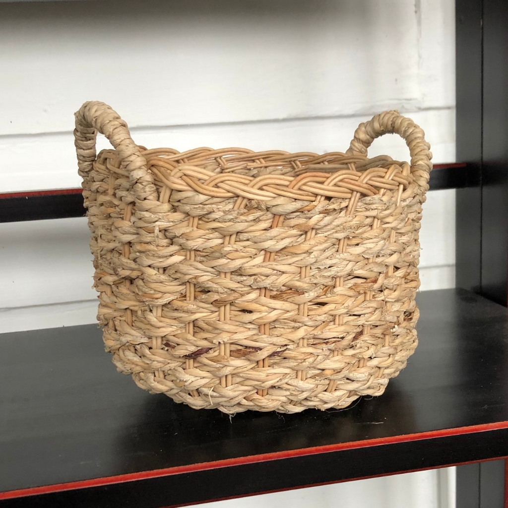 Banana Leaf Accessory Basket