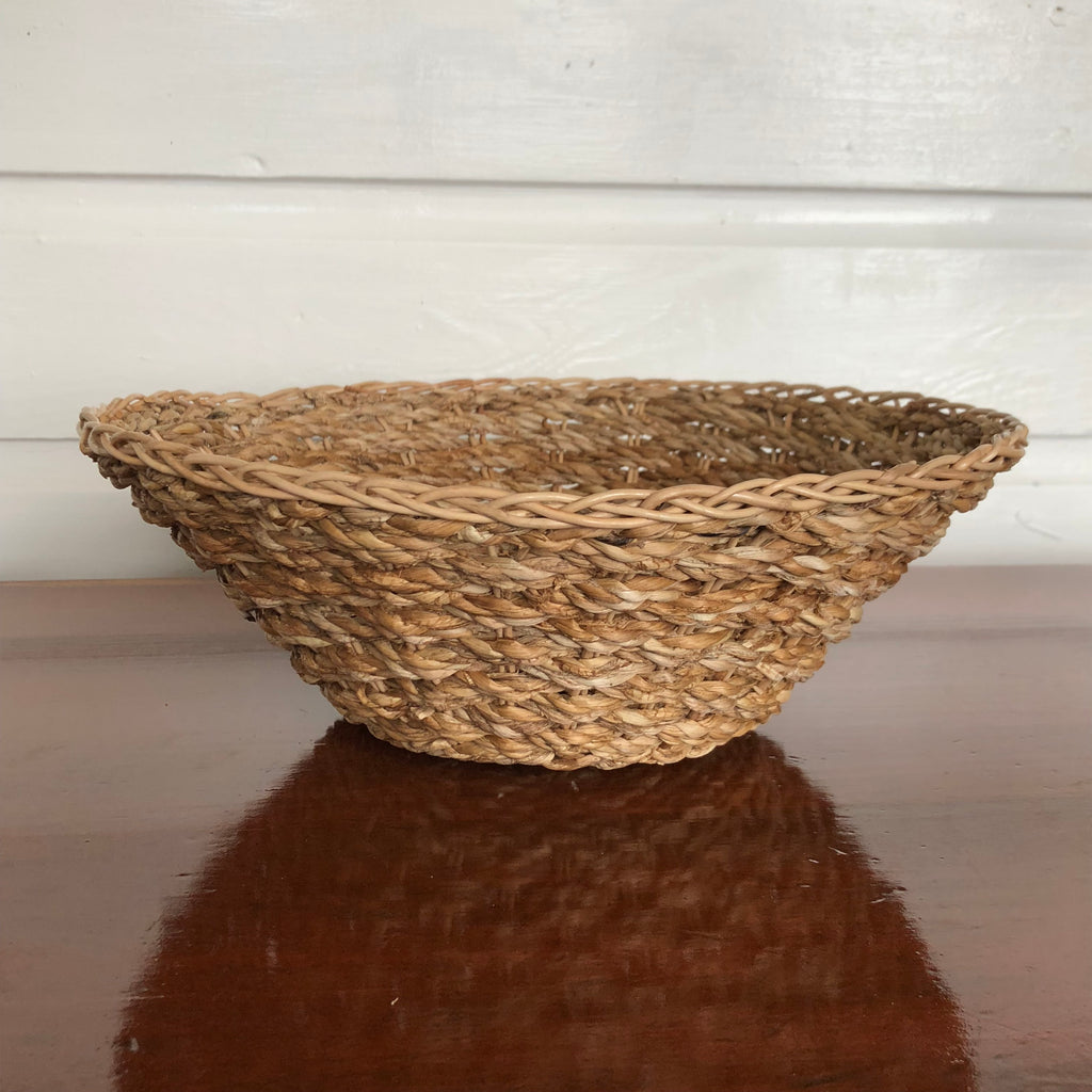 Banana Leaf Handwoven Bowl