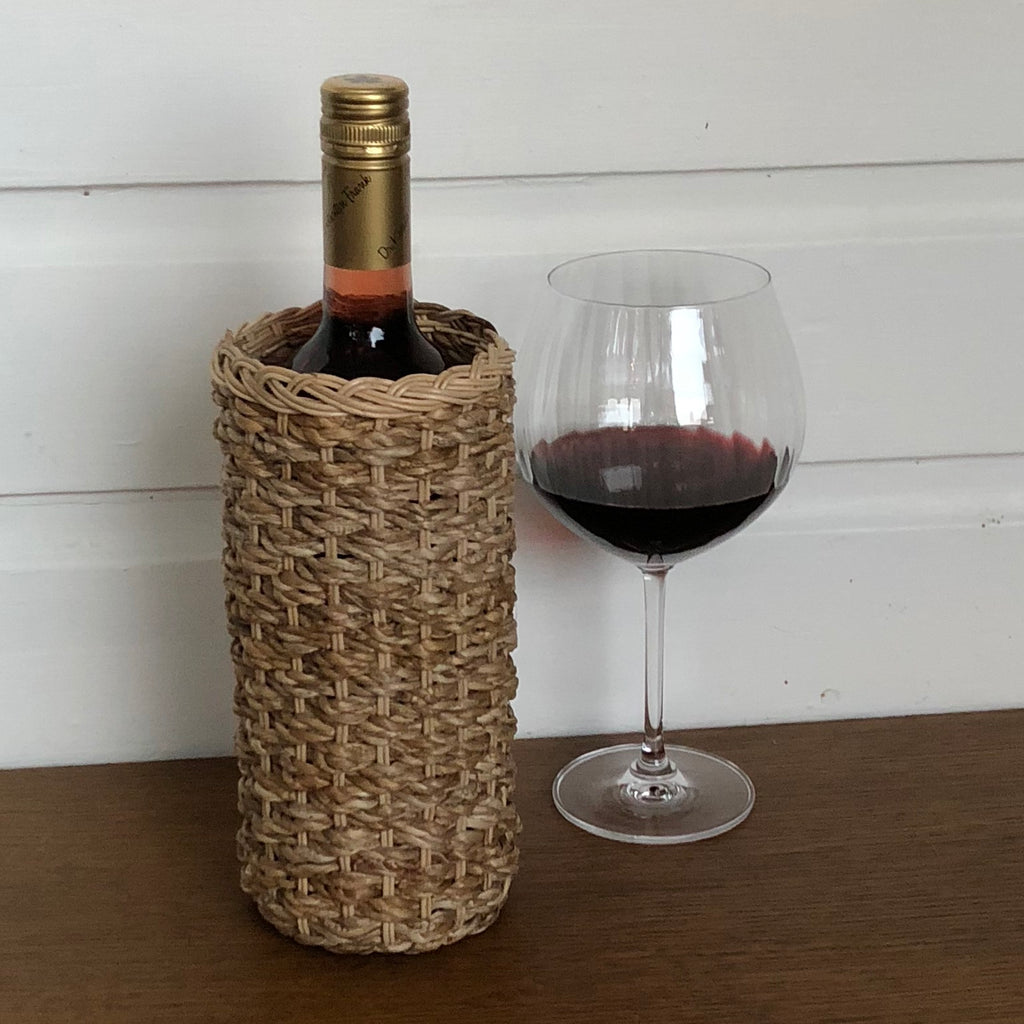 Banana Leaf Handwoven Vase & Wine Holder