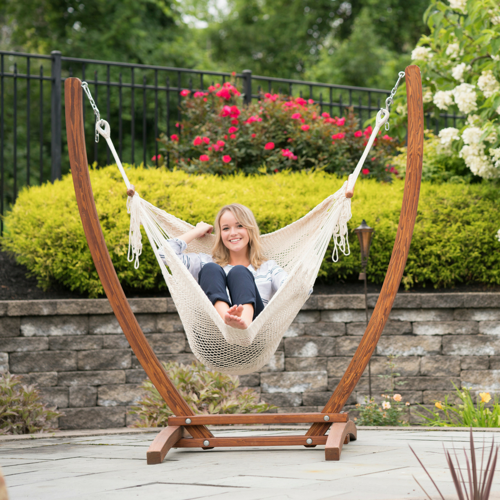 Delicieux Hammock Chair Stand Set