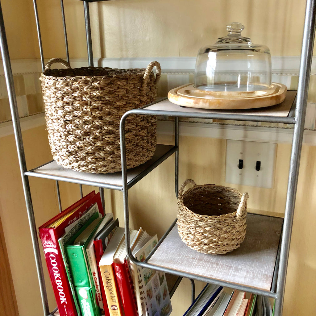 Medium Storage Basket and Small Accessory Basket