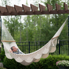 Large Spreader Bar Double Hammock- White