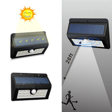 Solar power Flood Light with Motion Sensor