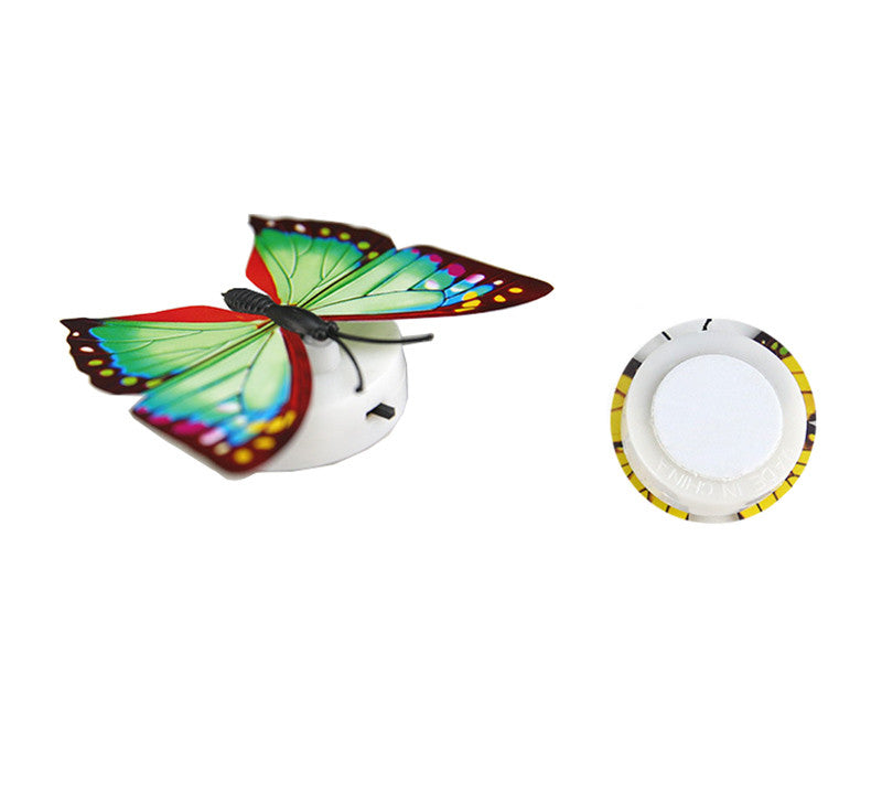 Colorful Changing Butterfly LED Night Light