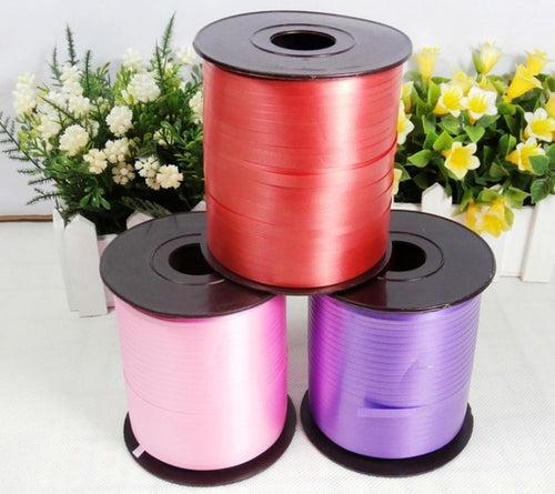 3pcs 220 m Balloon Ribbon