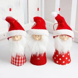 Red Santa Claus Doll
