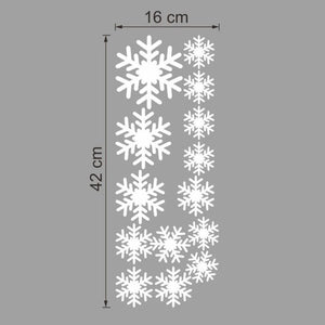 "DIY Home décor window sticker ""Snow flake"""
