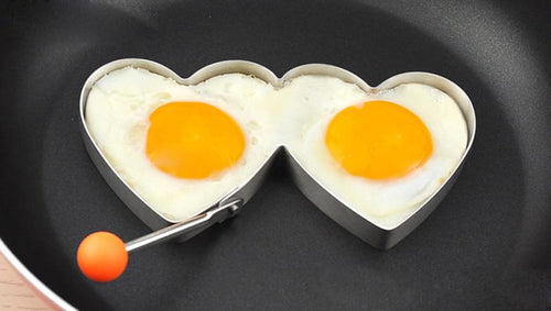 Stainless Steel Fried Egg and Pancake Mold