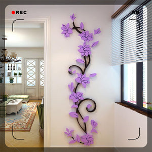 "DIY Home décor wall sticker ""Decorative Flower"""