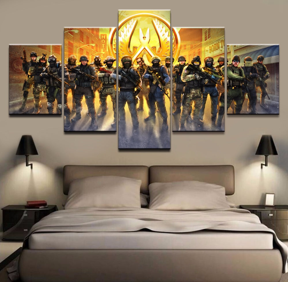 Counter Strike Global Offensive Wall Poster