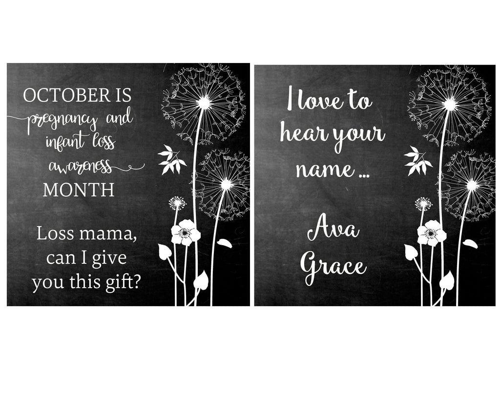 October is Pregnancy & Infant Loss Month