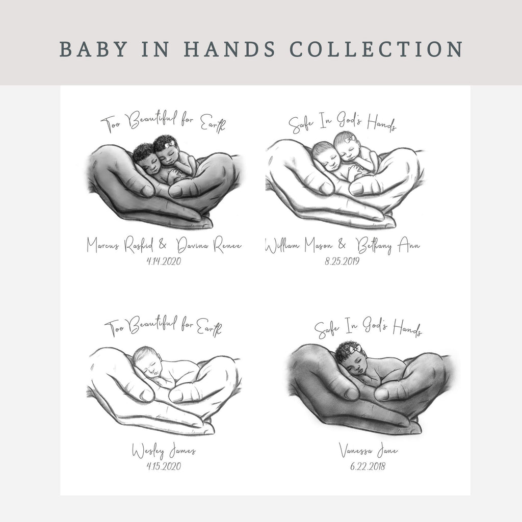 Baby in Hands Collection