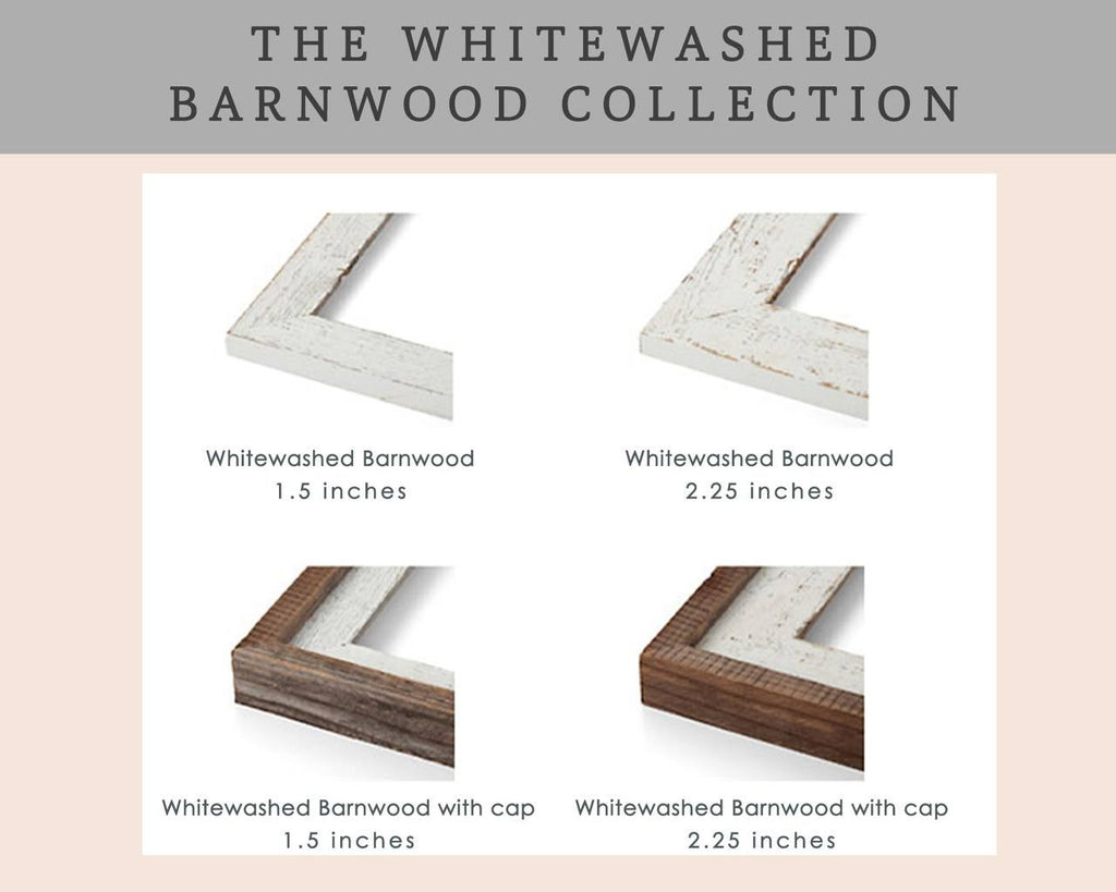 Add On a Frame from The Premium Whitewashed Barnwood Collection A Beautiful Remembrance