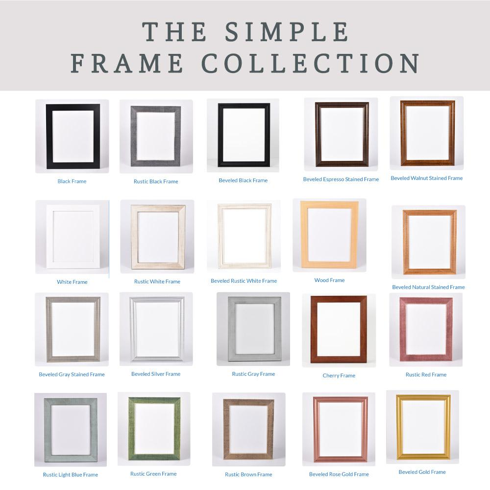 Add On a Frame from The Simple Frame Collection A Beautiful Remembrance 5x7